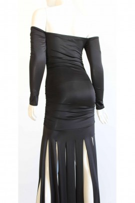 Halle Fringe Evening Dress