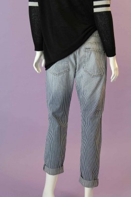 Jane Pin-Stripe Jeans