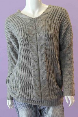 Jackie Cable Knit Sweater