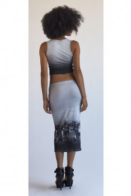 Kendra Nightscape 3/4 Skirt