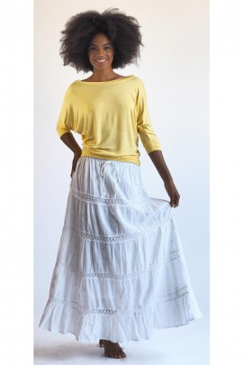 The Sydney Bohemian Skirt In Full Length