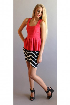 The Madison Peplum