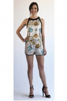 Ferrah Make It Rain Romper