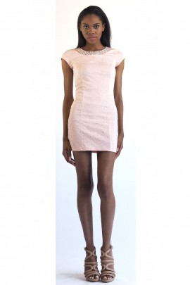 Mara Embossed Dress