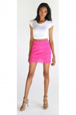 The Lexy Lace Skirt